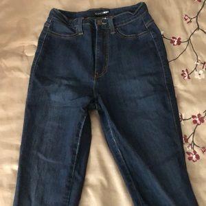 Size 5 Fashionova Classic High Waist Skinny Jeans